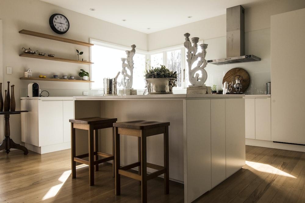 Una bellissima cucina usata trasformata ed aggiustata