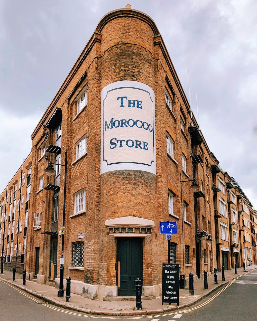 THe Morocco Store facade