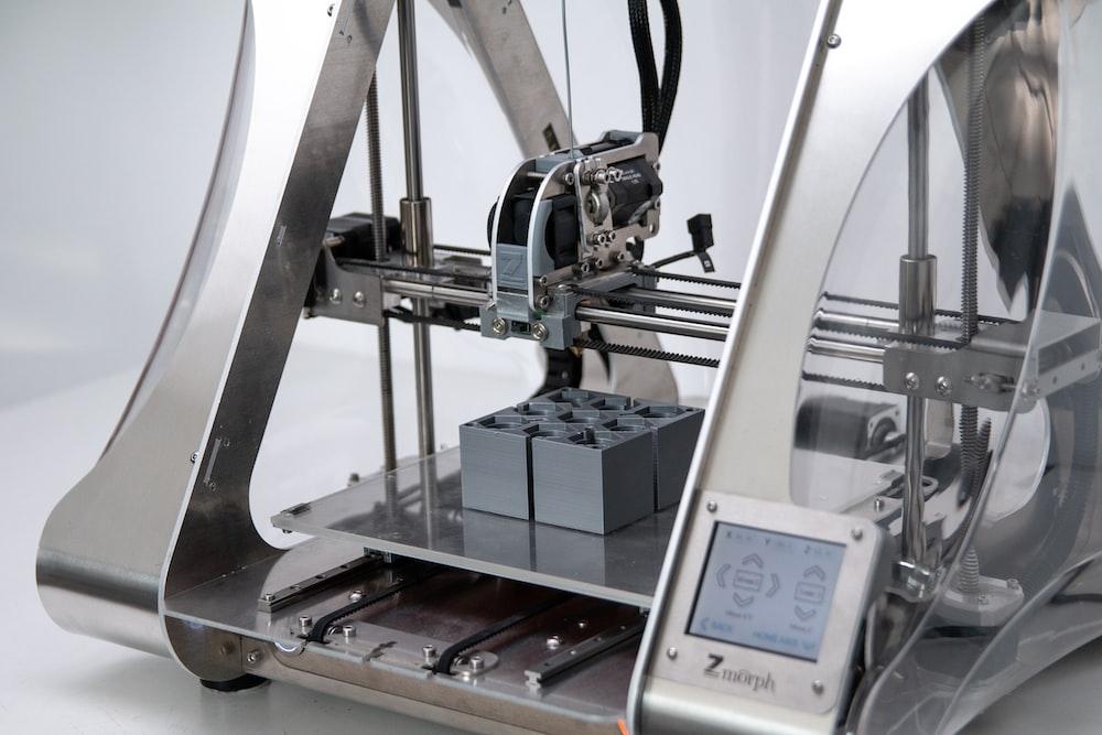 gray 3D printer