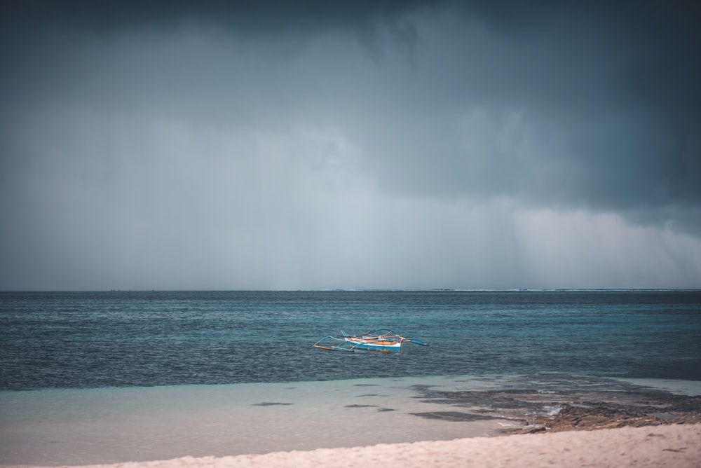 fishing boat near shore