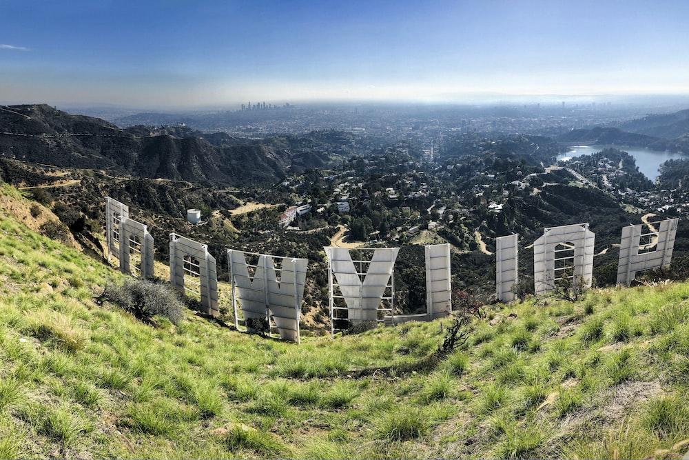 Hollywood at daytime