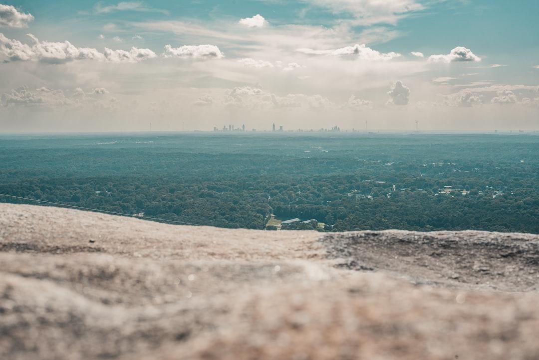 Top of Stone Mountain, Georgia