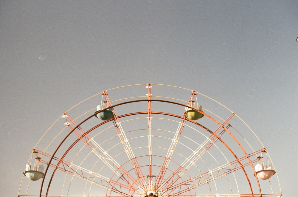 closeup photo of ferris wheel