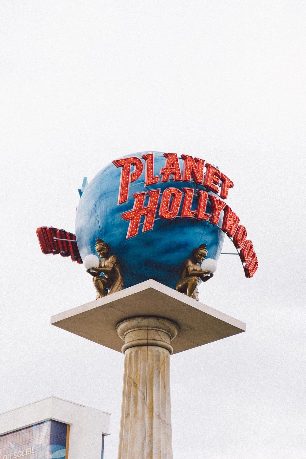 Planet Hollywood outdoor signage