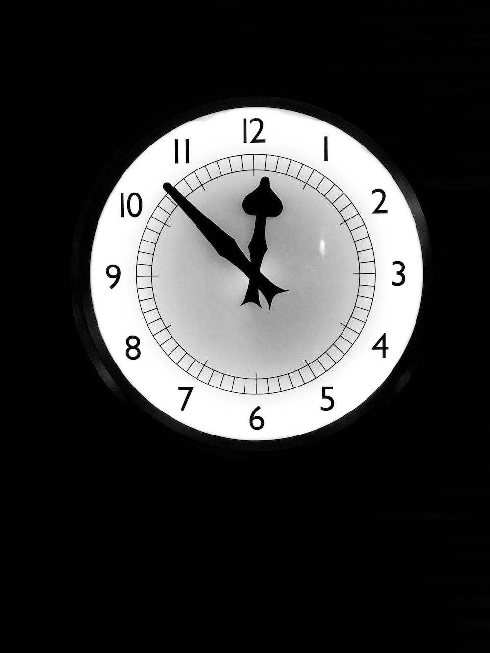 時計 深夜