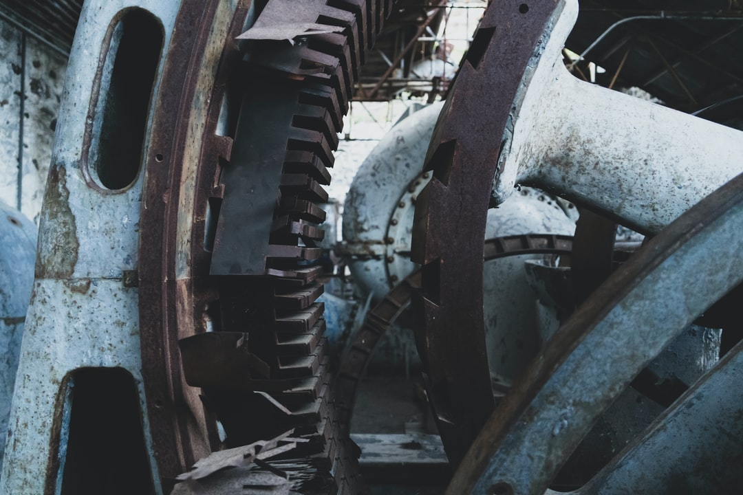 """These are the guts of an abandoned hydroelectric plant in central Oregon. There's something kind of awesome about finding huge industrial equipment and getting to see it ripped apart. This building screamed """"post-apocalyptic"""" although climbing down a canyon to reach it was exhausting."""