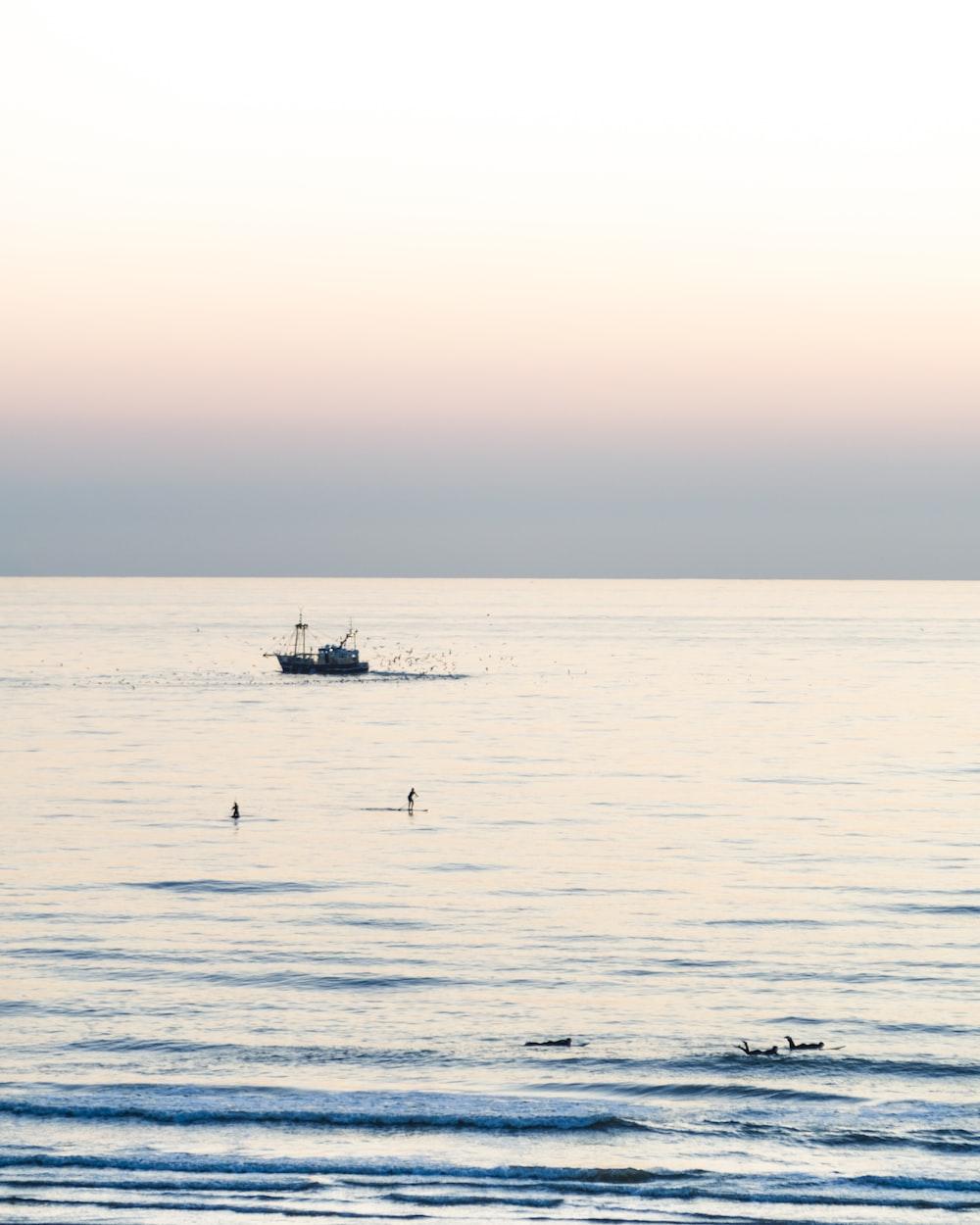 boat sailing during daytime