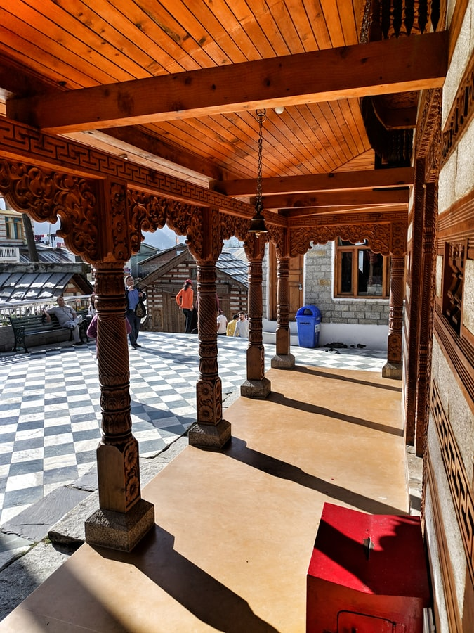 Intricate wood works of Naggar