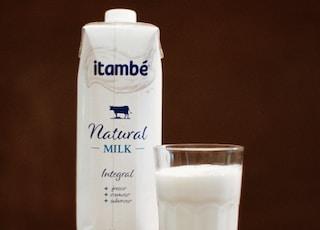 Itambe Natural milk carton