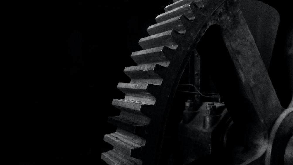 grey metal gear