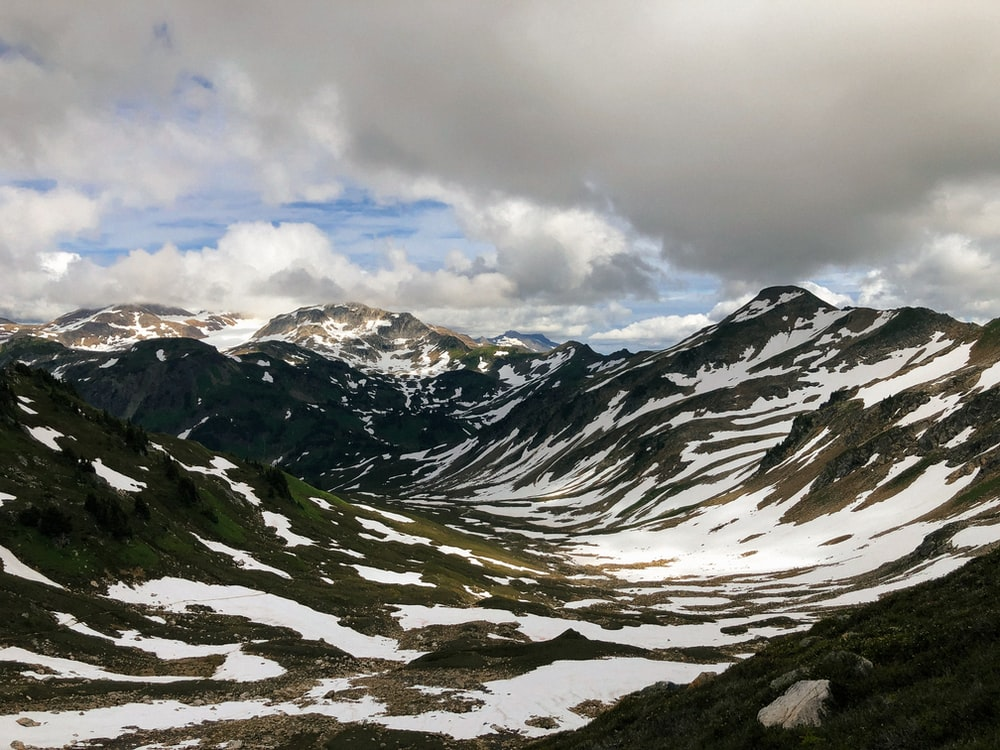 mountain alps photography during daytime
