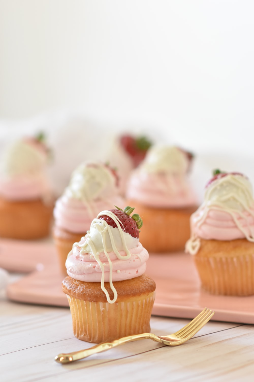 baked cupcake