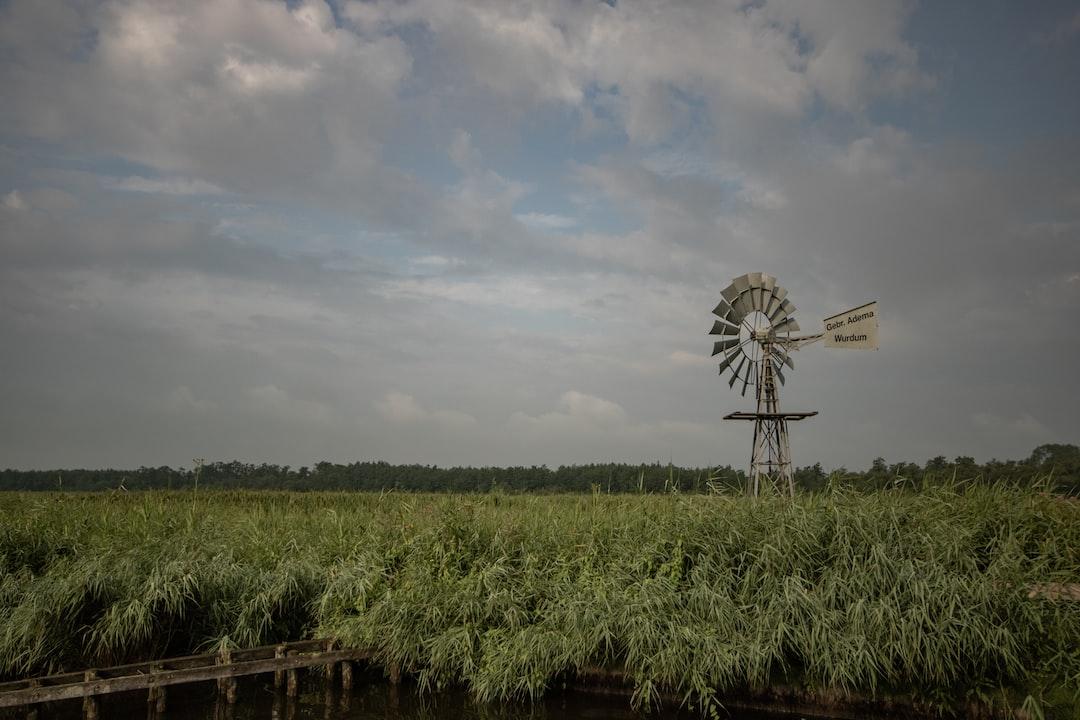 Windmill in Friesland, Netherland