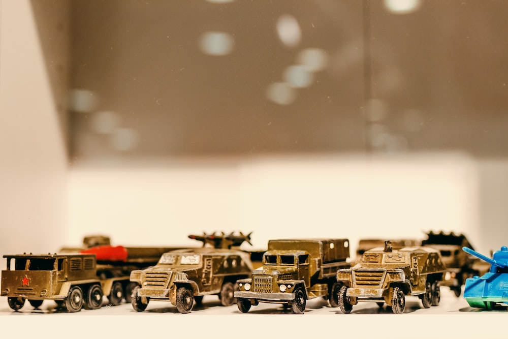 assorted model toy cars