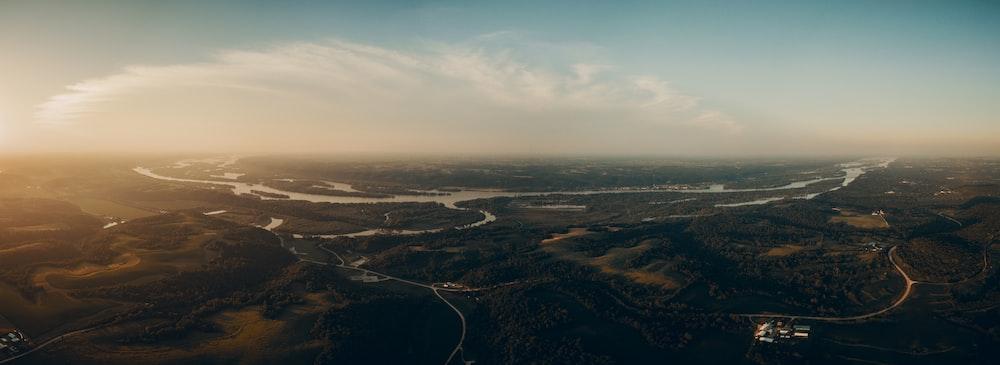panorama skyline view