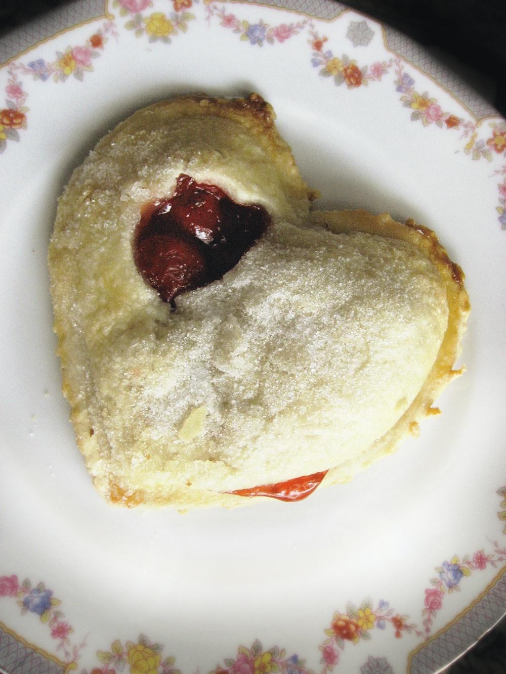 heart-shape pie
