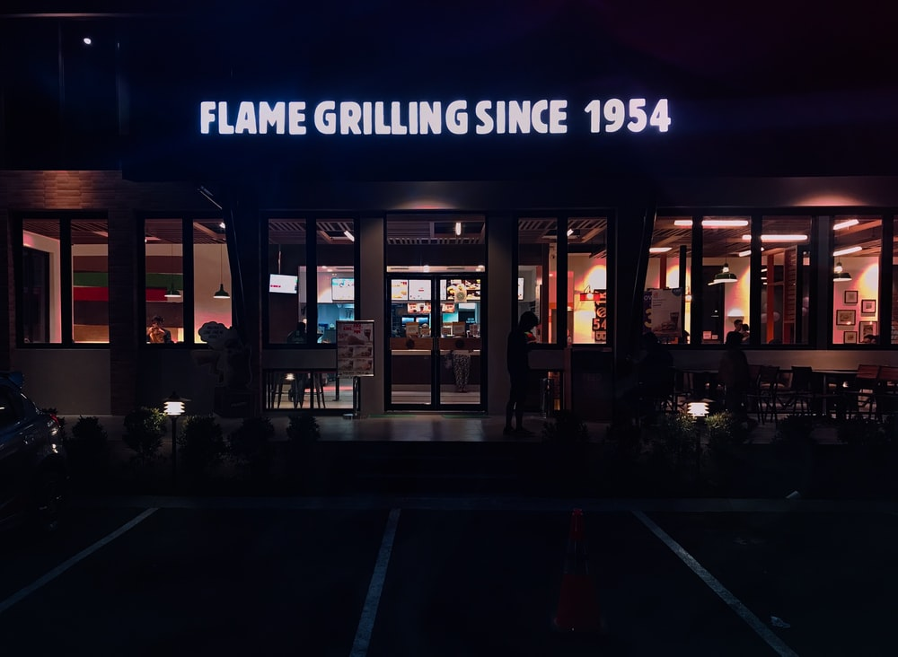 Flame Grilling Since 1954 sore