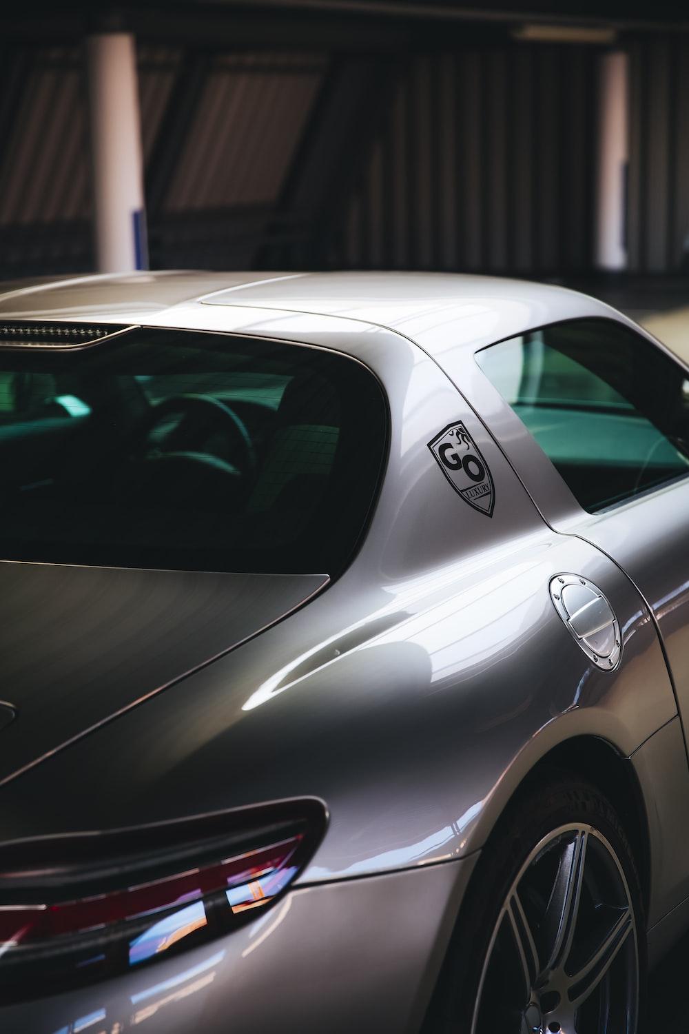 gray coupe