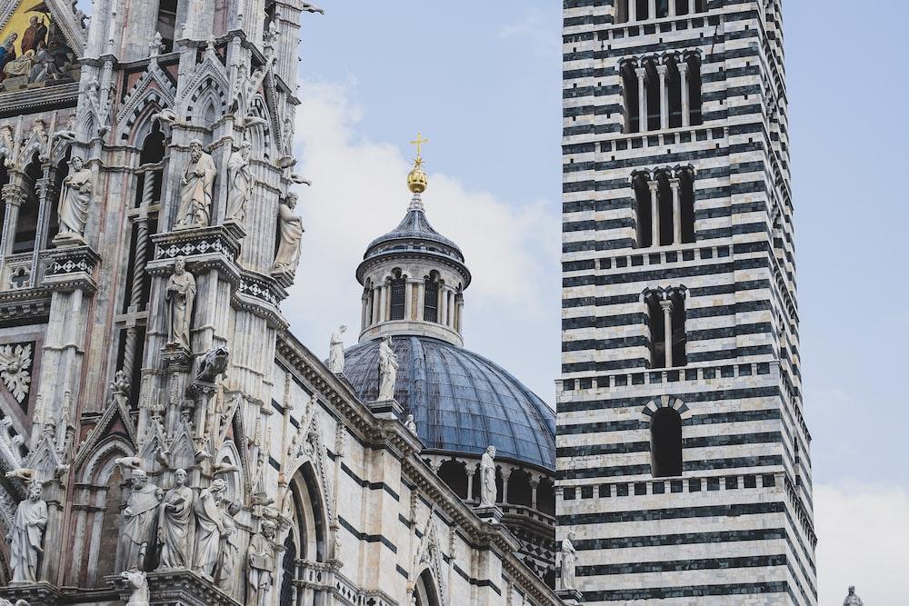 Duomo di Siena Church in Siena, Italy