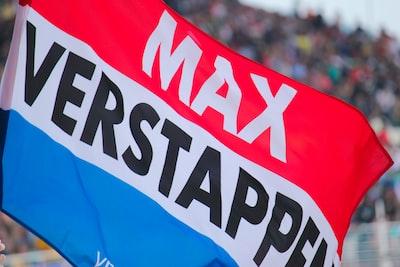 max verstappen flag