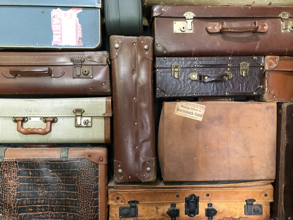 assorted luggages