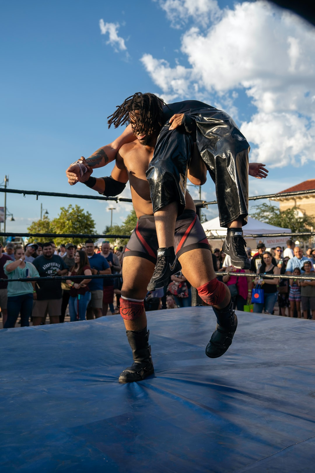Lucha Libre wrestling in downtown Las Cruces