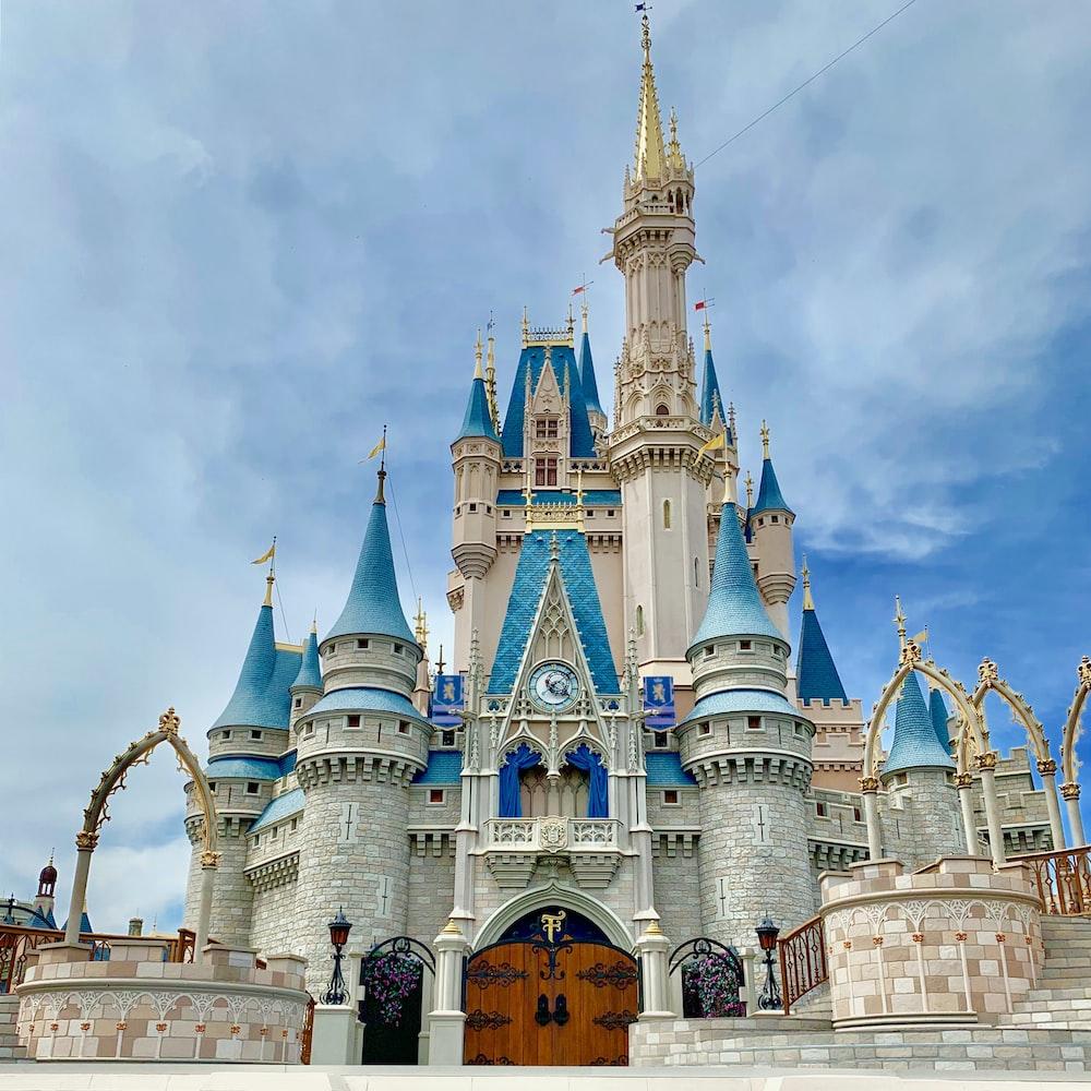 Cinderella Castle photo during daytime