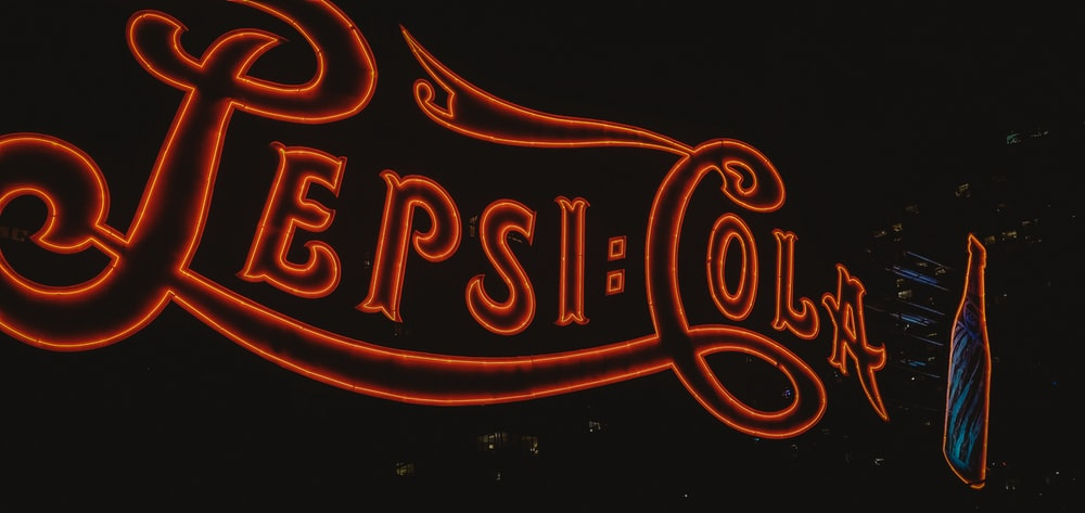 Pepsi-Cola signage