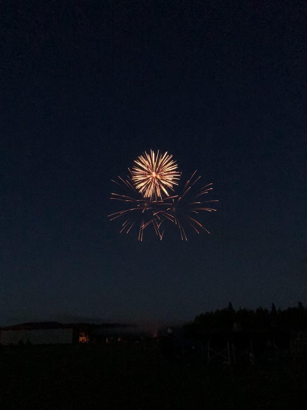 fireworks during nighttime
