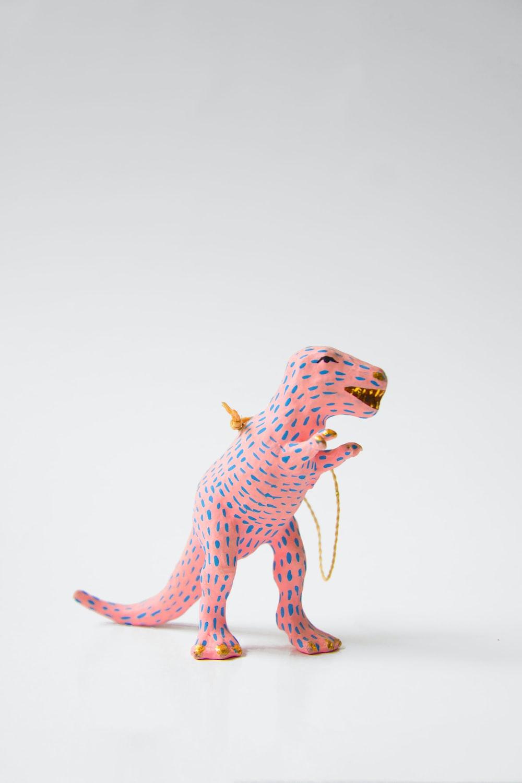 pink dinosaur toy