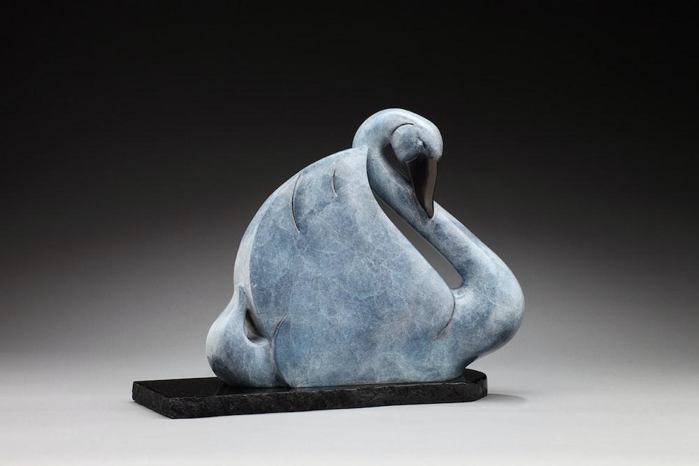 grey swan figurine
