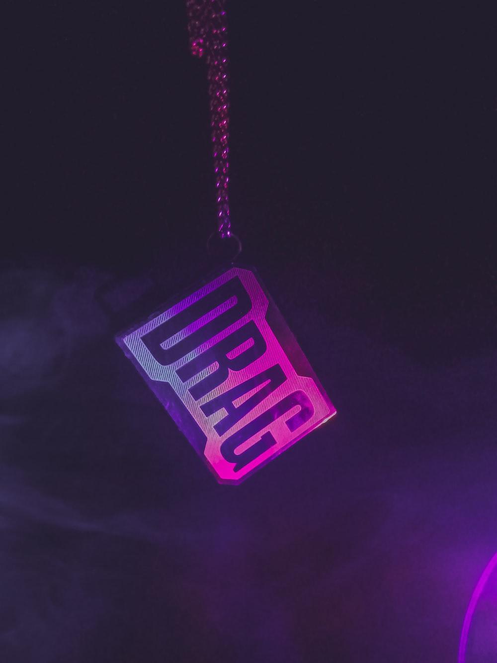 drag-printed key chain