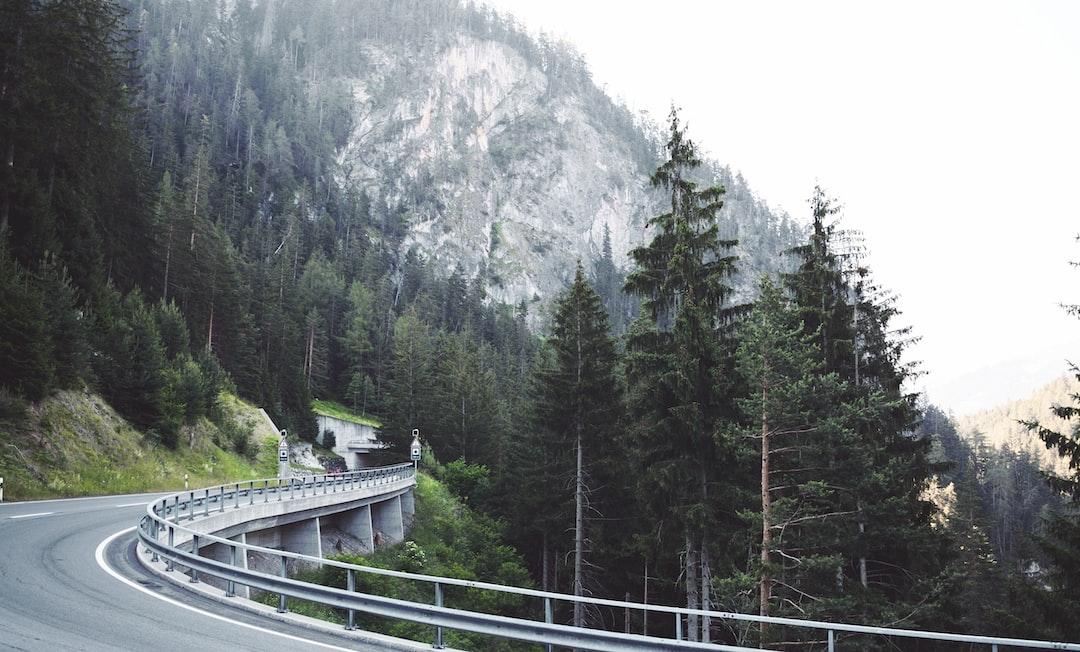 Alpine road of Switzerland