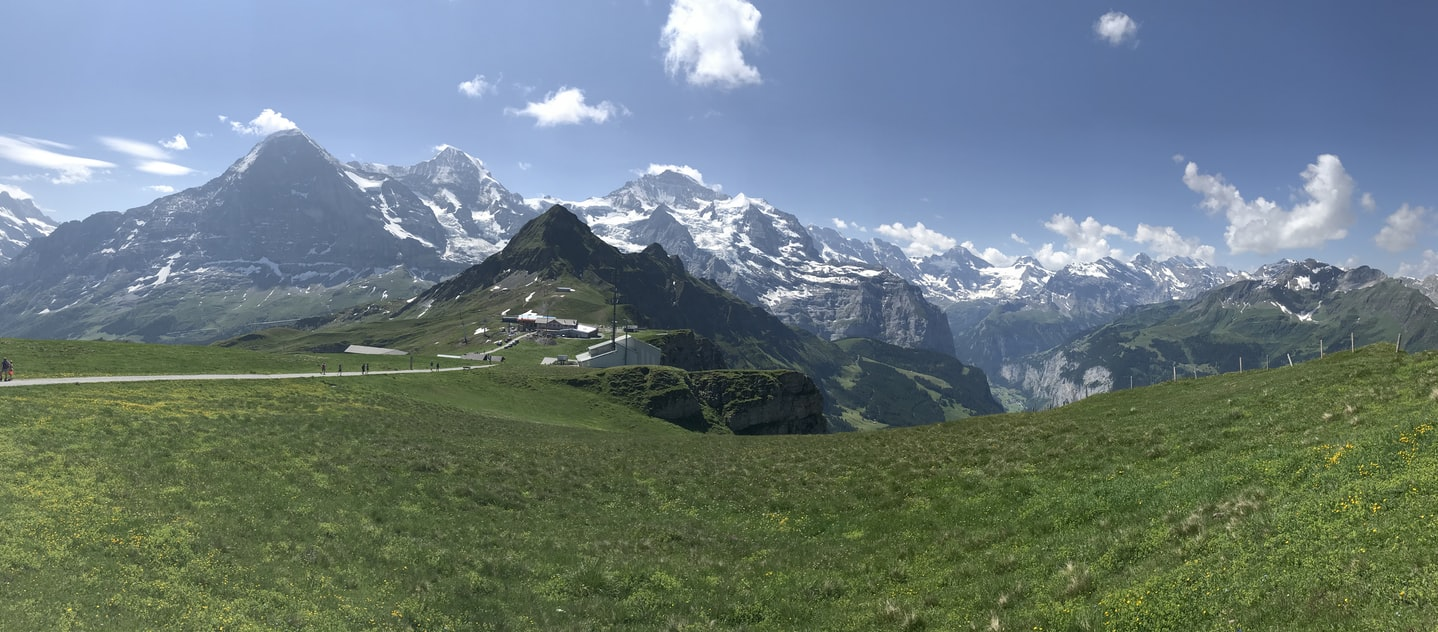 Grindelwald–Männlichen views