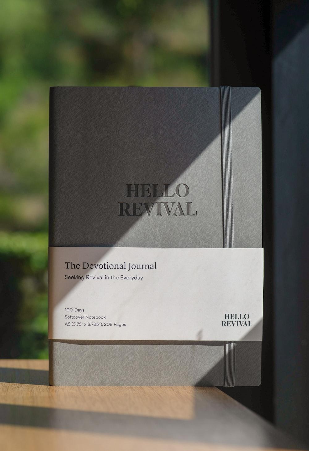 Hello Revival The Devotional journal