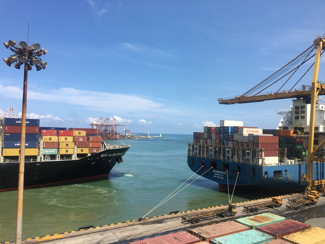 Port of Colombo, Sri Lanka