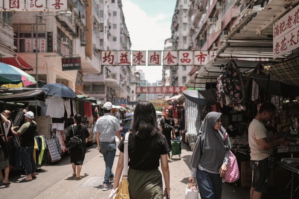 Apliu Street Flea Market in Hong Kong is a popular destination for the selling and buying of electronic goods.