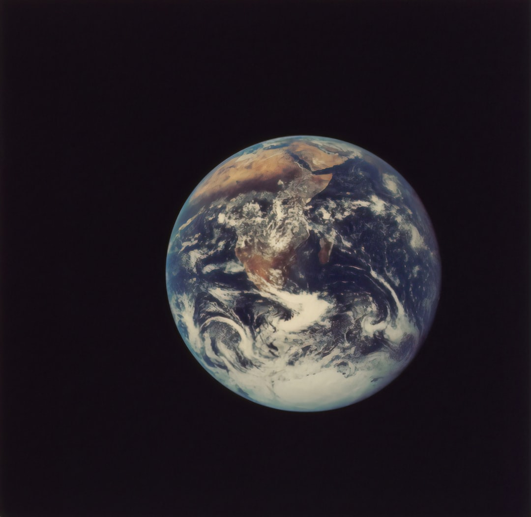 Full Disk Earth, Apollo 17, 1972