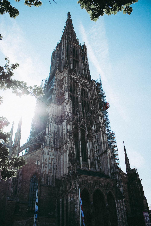 grey church photography
