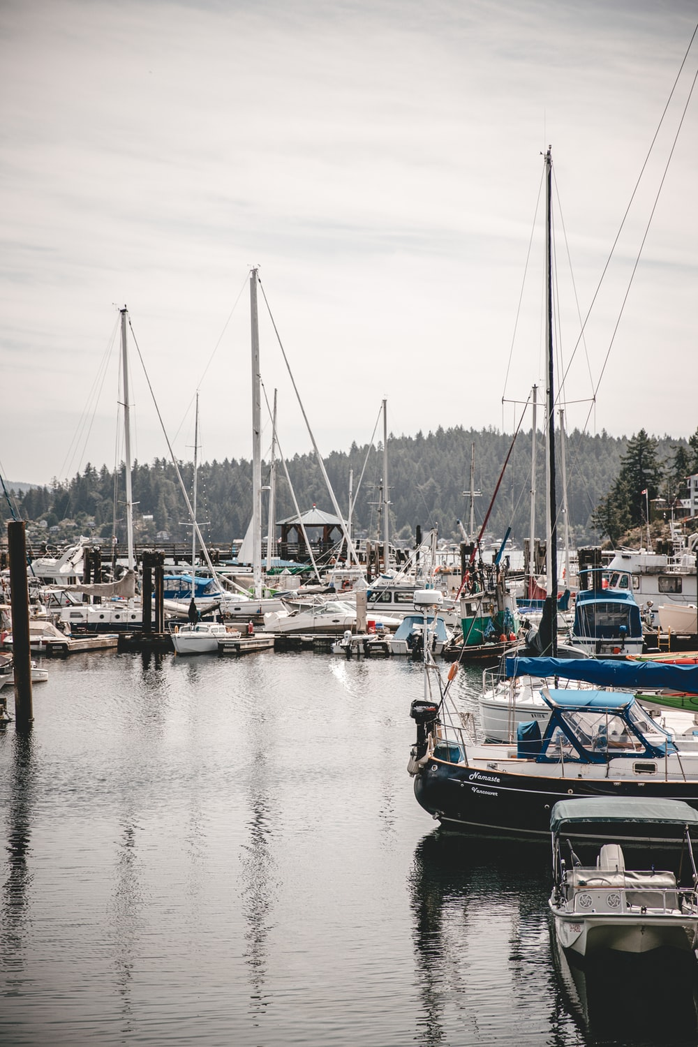boat lot on body of water during daytime