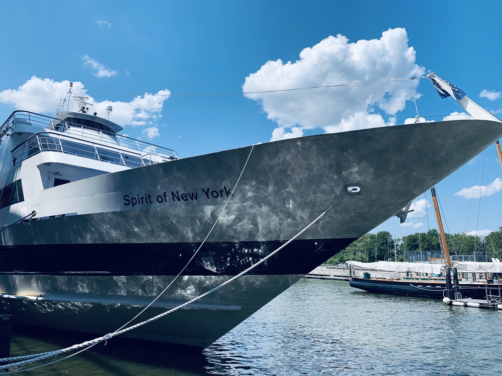 white Spirit of New York ship