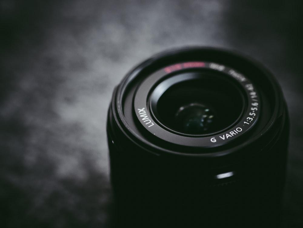 black camera llens
