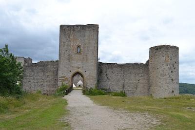 Château cathare de Puivert dans le département de l'Aude