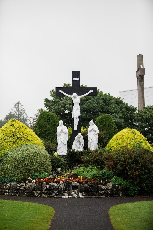 white statue during daytime