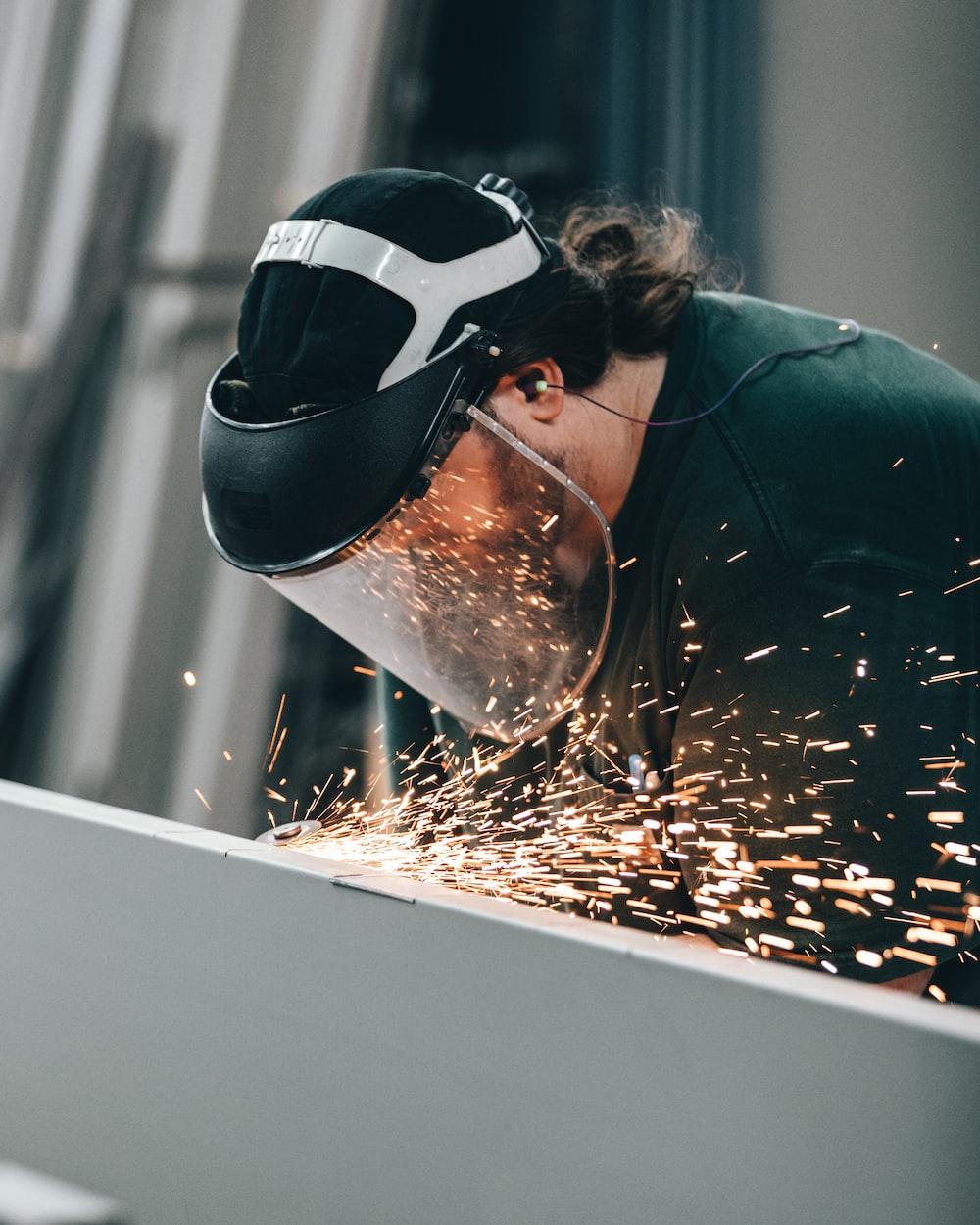welding man