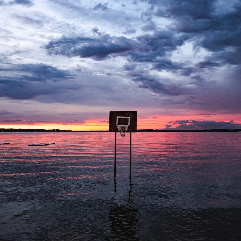 black basketball system