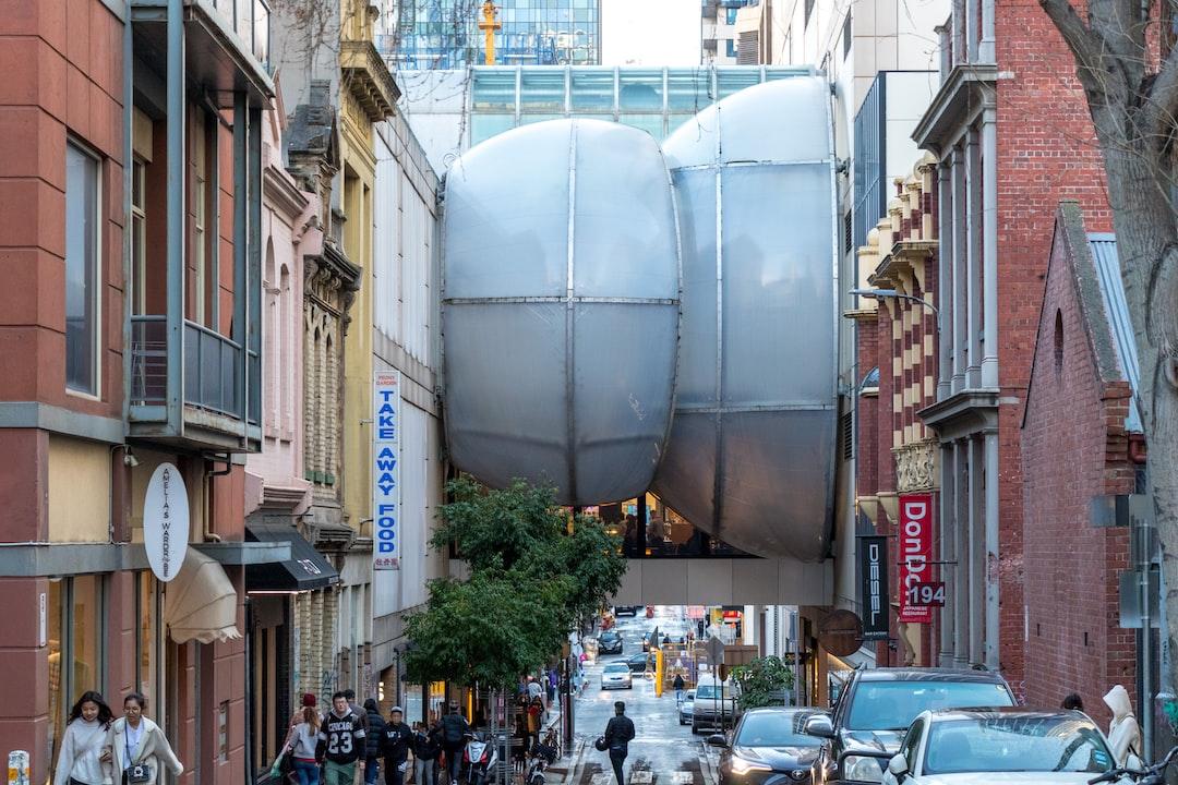 Urban blobs of Melbourne