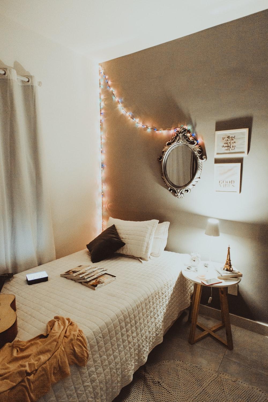 well-lit room