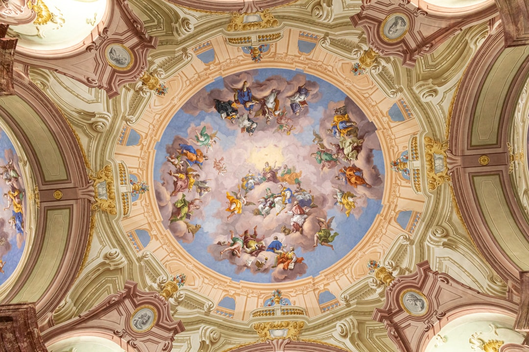 Library ceiling in Admont (Austria)