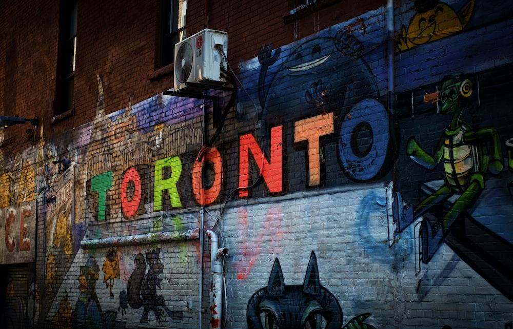 Toronto wall painting